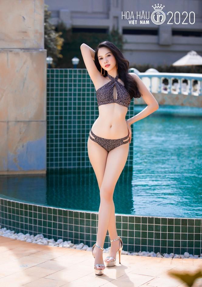 5 cô gái mặc bikini đẹp nhất Hoa hậu Việt Nam 2020 trình diễn áo tắm - ảnh 2