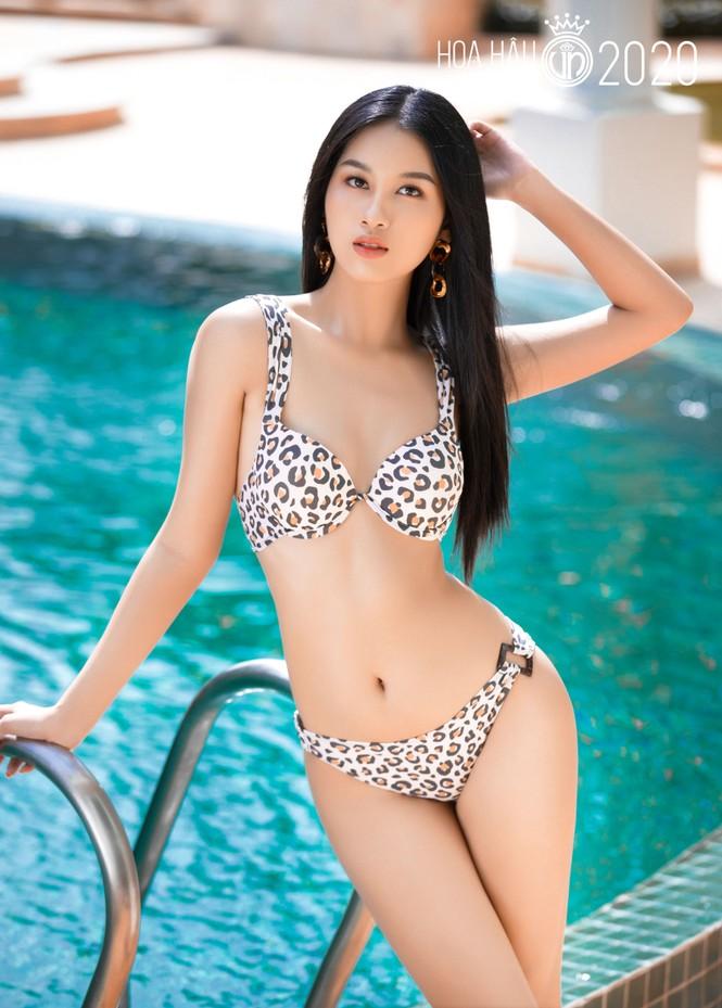 5 cô gái mặc bikini đẹp nhất Hoa hậu Việt Nam 2020 trình diễn áo tắm - ảnh 5