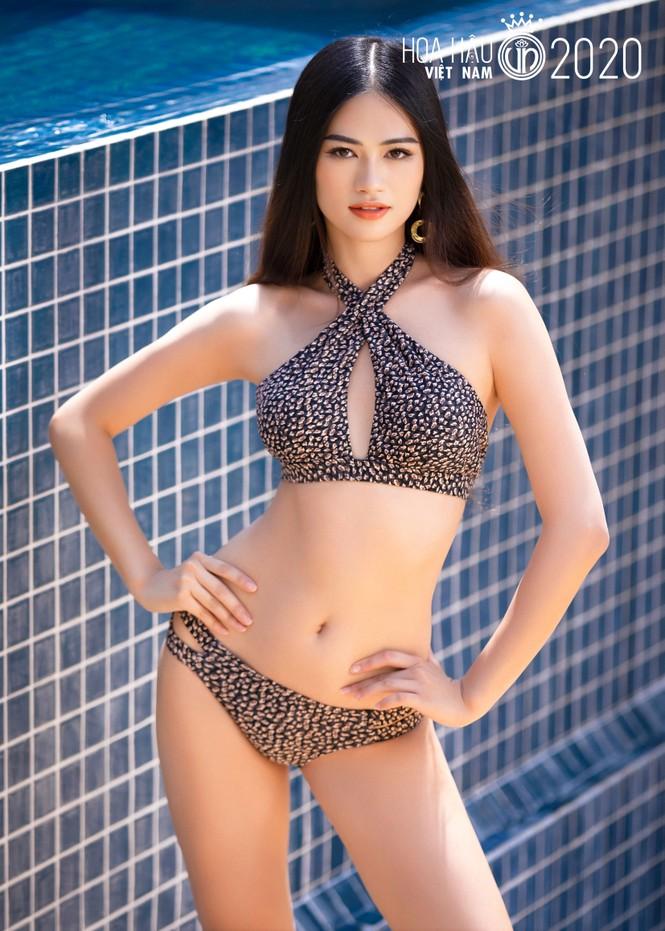 5 cô gái mặc bikini đẹp nhất Hoa hậu Việt Nam 2020 trình diễn áo tắm - ảnh 8