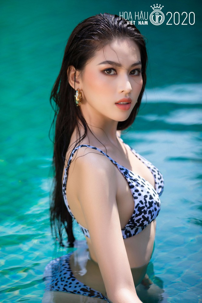 5 cô gái mặc bikini đẹp nhất Hoa hậu Việt Nam 2020 trình diễn áo tắm - ảnh 4