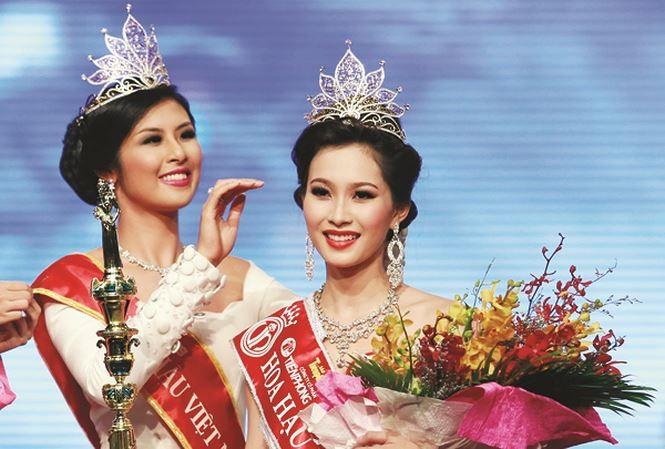 Đỗ Thị Hà mở ra một thập kỷ nhan sắc mới, nhìn lại vẻ đẹp của 5 Hoa hậu VN thập kỷ qua - ảnh 3