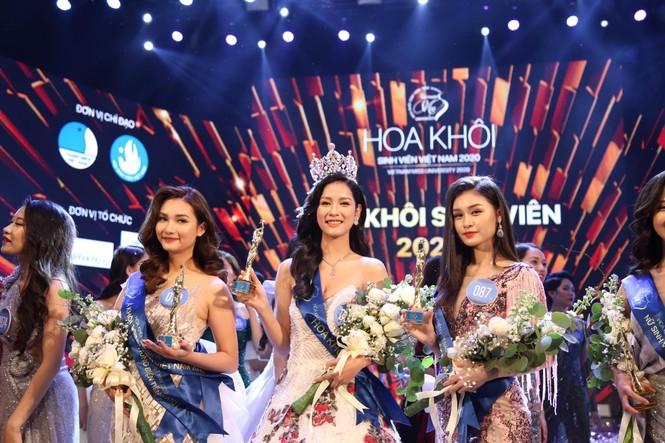 Tân Hoa khôi Sinh viên chia sẻ điều quý giá có được từ Hoa hậu Việt Nam 2020 - ảnh 1