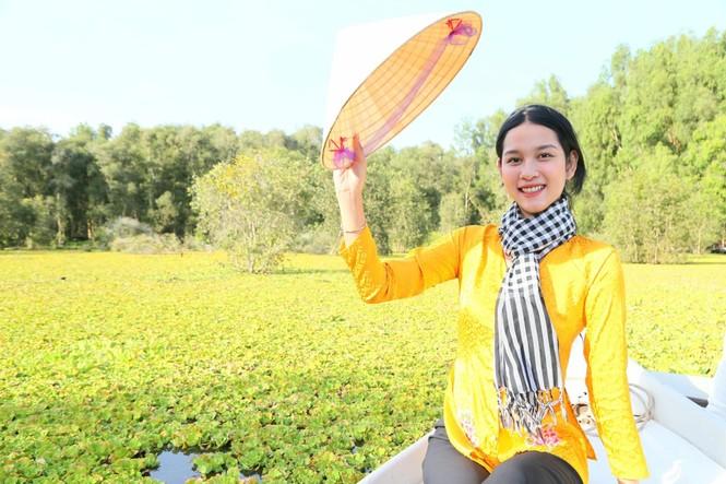 Tân Hoa khôi Sinh viên chia sẻ điều quý giá có được từ Hoa hậu Việt Nam 2020 - ảnh 3
