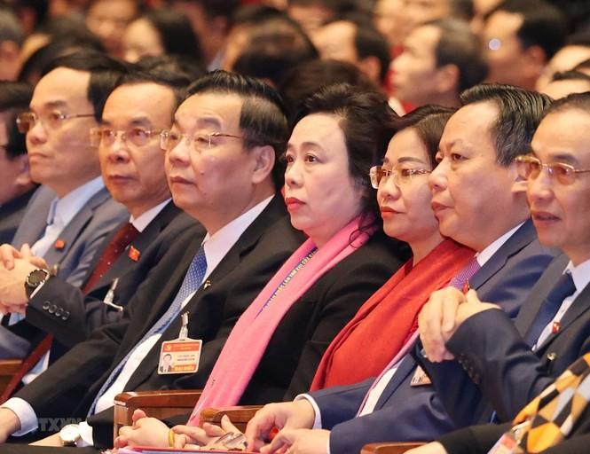 Hình ảnh đại biểu trình bày tham luận tại Đại hội XIII của Đảng - ảnh 14