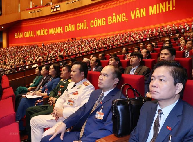 Hình ảnh đại biểu trình bày tham luận tại Đại hội XIII của Đảng - ảnh 18