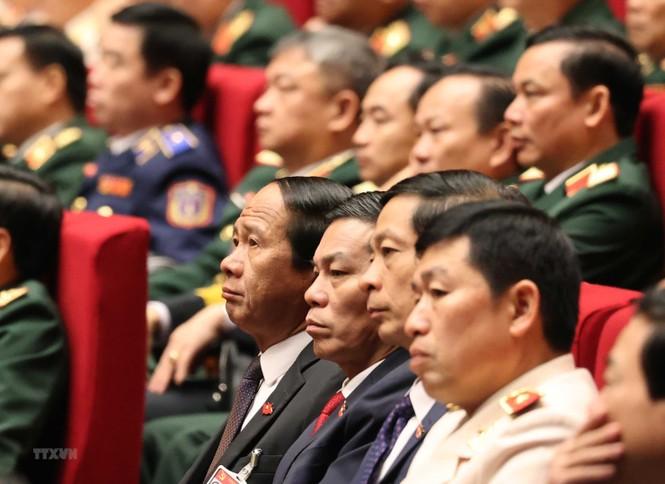 Hình ảnh đại biểu trình bày tham luận tại Đại hội XIII của Đảng - ảnh 19
