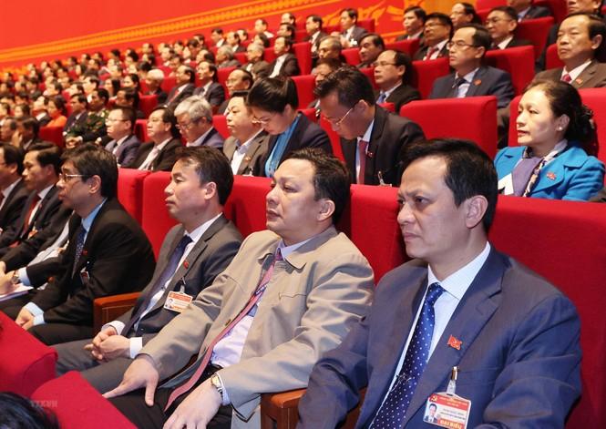 Hình ảnh đại biểu trình bày tham luận tại Đại hội XIII của Đảng - ảnh 20