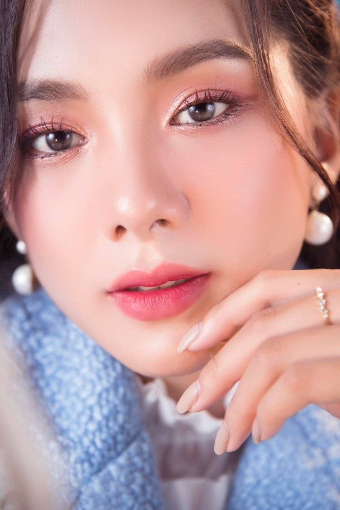 Nhan sắc người đẹp Hoa hậu Việt Nam vừa là 'bản sao' Baifern lại có nét của Lý Nhã Kỳ - ảnh 3