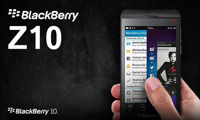 BlackBerry Z10 sắp bị khai tử tại Việt Nam - ảnh 1