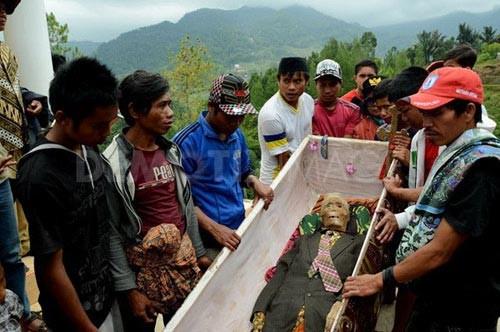 Hình ảnh Sự thật chuyện xác chết đội mồ tìm đường về nhà ở Indonesia số 5