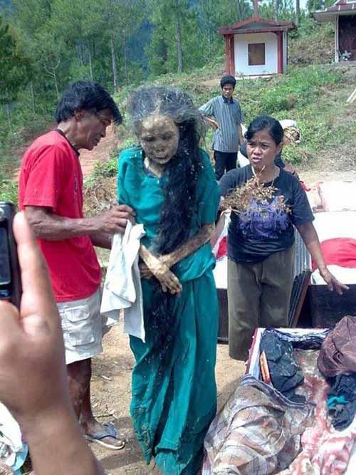 Hình ảnh Sự thật chuyện xác chết đội mồ tìm đường về nhà ở Indonesia số 1