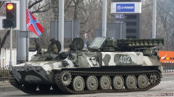 Ly khai Ukraine đang thử nghiệm nhiều loại vũ khí Nga? - ảnh 1