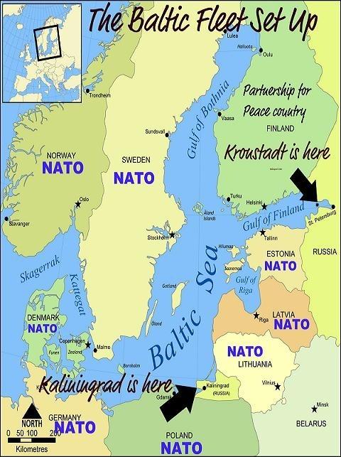 Vị trí chiến lược quan trọng của Kanilingrad đối với cả Nga và NATO