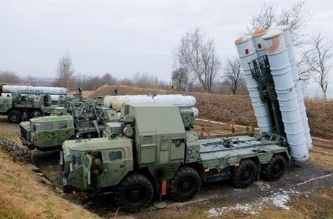 Hệ thống phòng không S-300 Nga trong cuộc diễn tập ở Kaliningrad