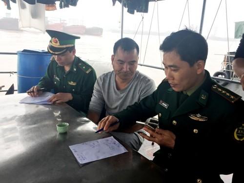 Chuyến tuần tra bắt giữ tàu Trung Quốc xâm phạm chủ quyền Việt Nam - ảnh 1