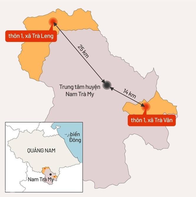 53 người mất tích do sạt lở núi ở Quảng Nam, quân đội vào hiện trường - ảnh 2
