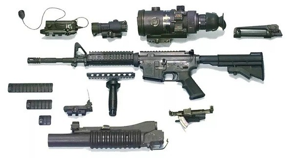 Súng máy và súng trường khác nhau như thế nào - ảnh 10