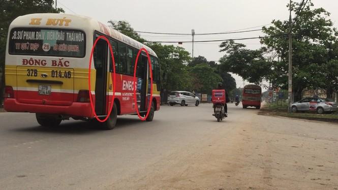 Bát nháo xe buýt tại TP Vinh, Nghệ An - ảnh 5