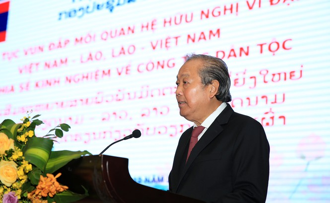 Vun đắp mối quan hệ hữu nghị vĩ đại Việt Nam – Lào, Lào – Việt Nam - ảnh 1