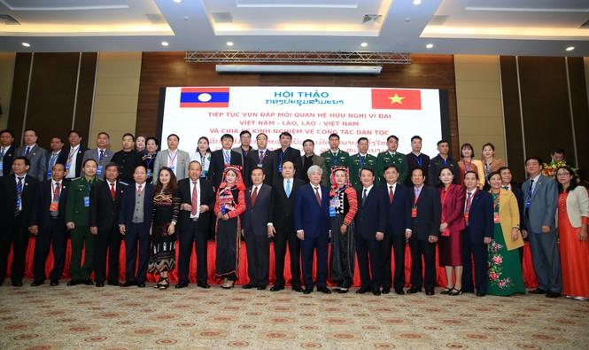 Vun đắp mối quan hệ hữu nghị vĩ đại Việt Nam – Lào, Lào – Việt Nam - ảnh 3