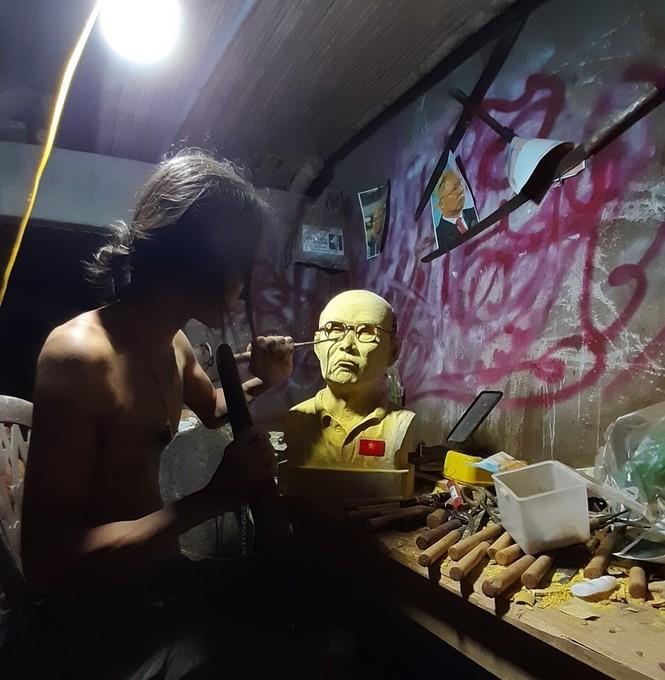 Chàng thợ mộc thức đêm làm món quà đặc biệt tặng HLV Park Hang Seo  - ảnh 4