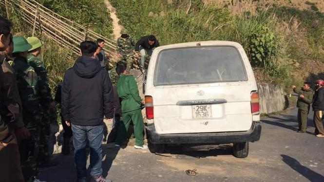 Xe chở người khuyết tật bị nạn ở biên giới, 2 người chết, nhiều người bị thương - ảnh 4