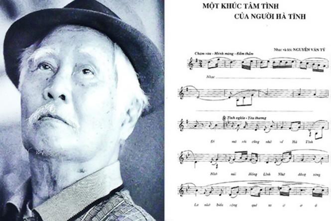 Nhạc sỹ Nguyễn Văn Tý - Người đi xây hồ Kẻ Gỗ bài hát sống cùng năm tháng - ảnh 1