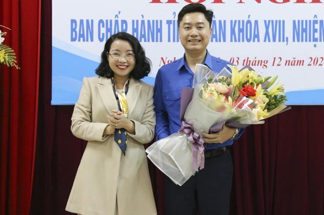 Anh Lê Văn Lương giữ chức Bí thư Tỉnh đoàn Nghệ An - ảnh 7