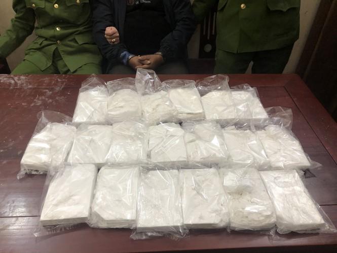 Trinh sát dầm mưa trong đêm mật phục bắt giữ đối tượng mua bán 19 bánh heroin - ảnh 1