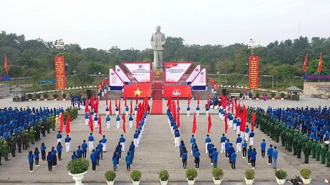 Tỉnh đoàn Nghệ An phát động 90 ngày thi đua chào mừng kỷ niệm 90 năm thành lập Đoàn - ảnh 2