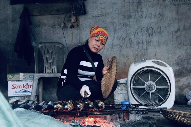 Thơm lừng làng cá nướng ngày Đông giá - ảnh 15