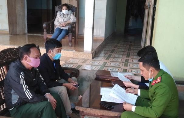 Từ Hải Dương về quê ăn Tết, nữ công nhân khai báo gian dối để trốn cách ly - ảnh 1