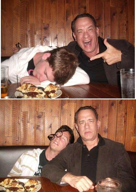 """Tom Hanks """"đánh bom"""" ảnh cưới cặp đôi New York - ảnh 2"""