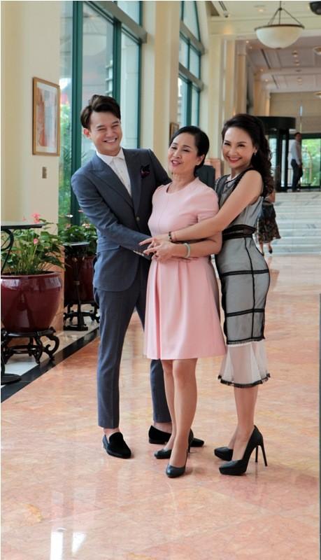 Khi Người phán xử hội ngộ dàn diễn viên Sống chung với mẹ chồng - ảnh 3