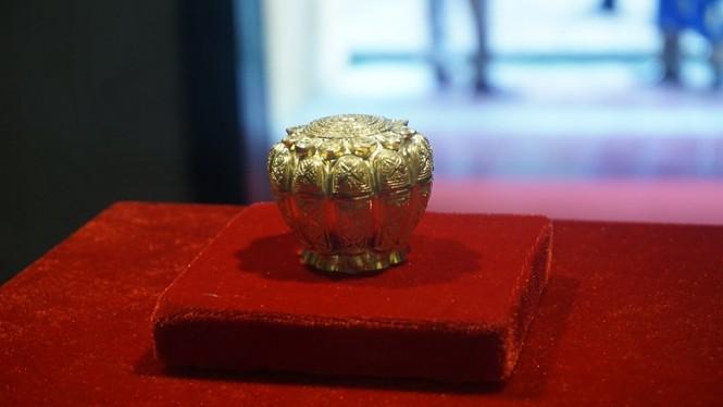 Ngắm hiện vật quý hàng trăm năm tuổi gắn với Phật hoàng Trần Nhân Tông - ảnh 5
