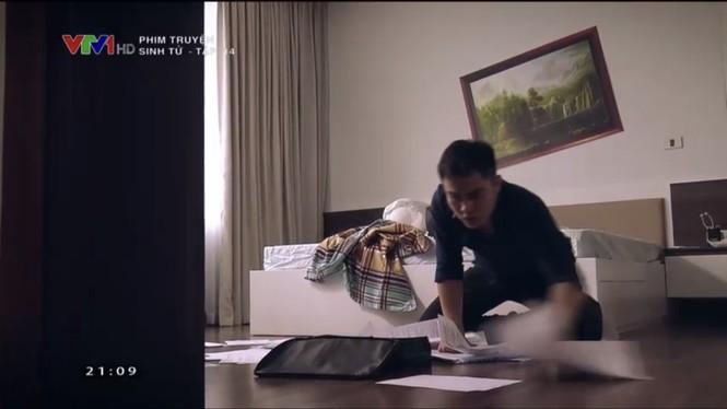 Sinh tử tập 14: Ngoài tiền, Vũ tìm cách hối lộ tình thủ trưởng cơ quan điều tra  - ảnh 1