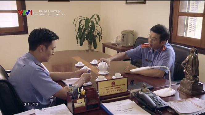Sinh tử tập 35: Vũ (Việt Anh) nhúng tay giúp Bạt (Chí Nhân) lên giám đốc Sở - ảnh 2
