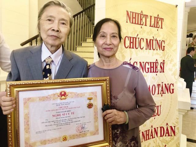 Nghệ sỹ Pham Ngọc Hướng, bố đẻ của anh em Ngọc Châu- Khánh Linh qua đời - ảnh 1