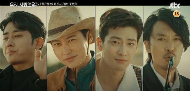 Song Ji-hyo 'mắc kẹt' với 4 người đàn ông của 'Phải chăng ta đã yêu' - ảnh 3