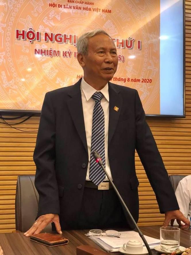 PGS.TS. Đỗ Văn Trụ đắc cử Chủ tịch Hội Di sản Văn hóa Việt Nam - ảnh 2