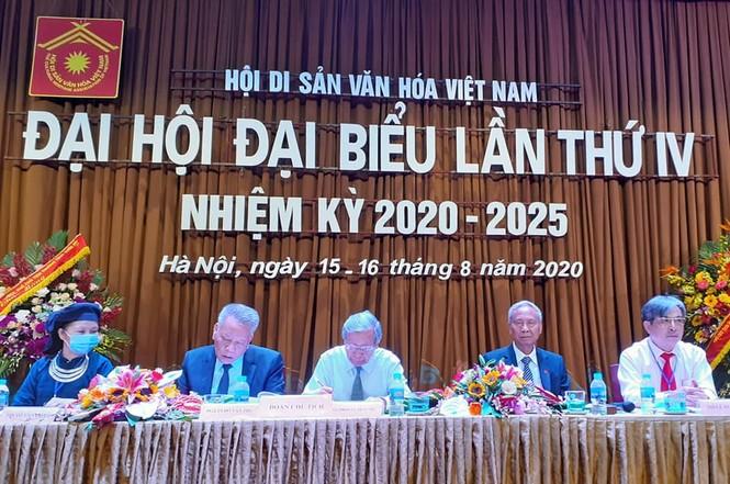 PGS.TS. Đỗ Văn Trụ đắc cử Chủ tịch Hội Di sản Văn hóa Việt Nam - ảnh 1