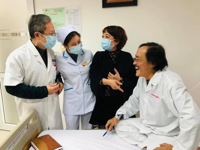 Nghệ sĩ Giang Còi nhập viện điều trị, nghi có khối u - ảnh 2