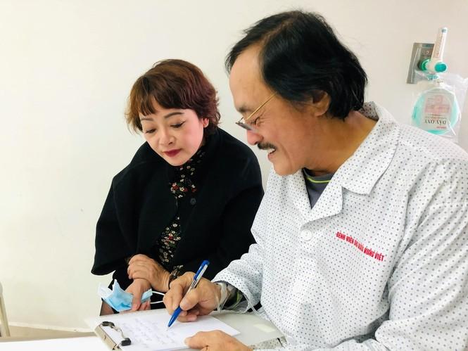 Nghệ sĩ Giang Còi nhập viện điều trị, nghi có khối u - ảnh 1