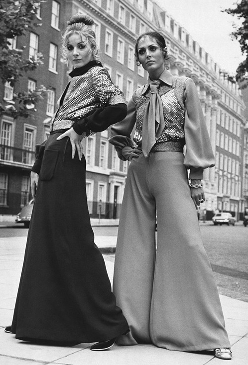 Phong cách dạo phố đẳng cấp của các quý cô xưa  - ảnh 9