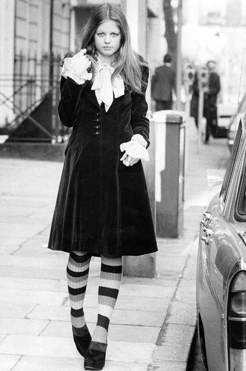 Phong cách dạo phố đẳng cấp của các quý cô xưa  - ảnh 14