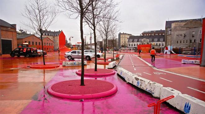 Công viên nghệ thuật đa sắc màu ở Đan Mạch  - ảnh 10