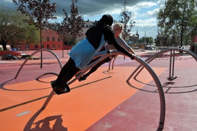 Công viên nghệ thuật đa sắc màu ở Đan Mạch  - ảnh 15
