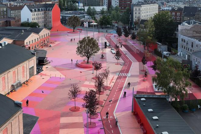 Công viên nghệ thuật đa sắc màu ở Đan Mạch  - ảnh 2