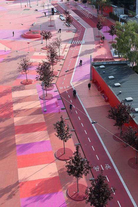 Công viên nghệ thuật đa sắc màu ở Đan Mạch  - ảnh 3
