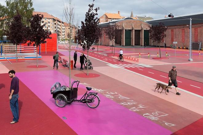 Công viên nghệ thuật đa sắc màu ở Đan Mạch  - ảnh 5